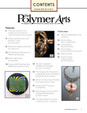 The Polymer Arts Summer 2016