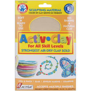 Activ-Clay Air-Dry Clay 1 lb - White
