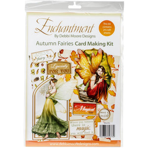 Debbi Moore A4 Cardmaking Kit - Autumn Fairies