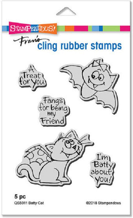 Stampendous - Batty Cat
