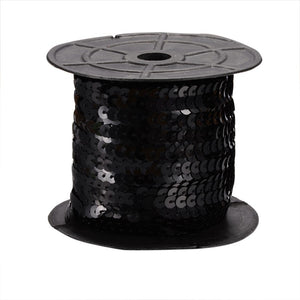 Black Sequins - 100yd roll
