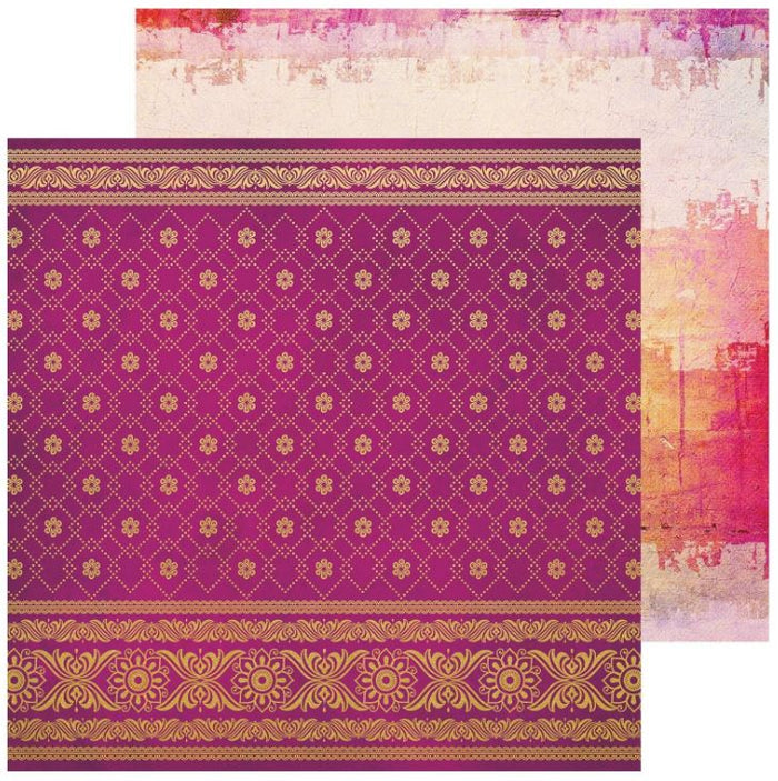 Bombay Sunset Double-Sided - Sari