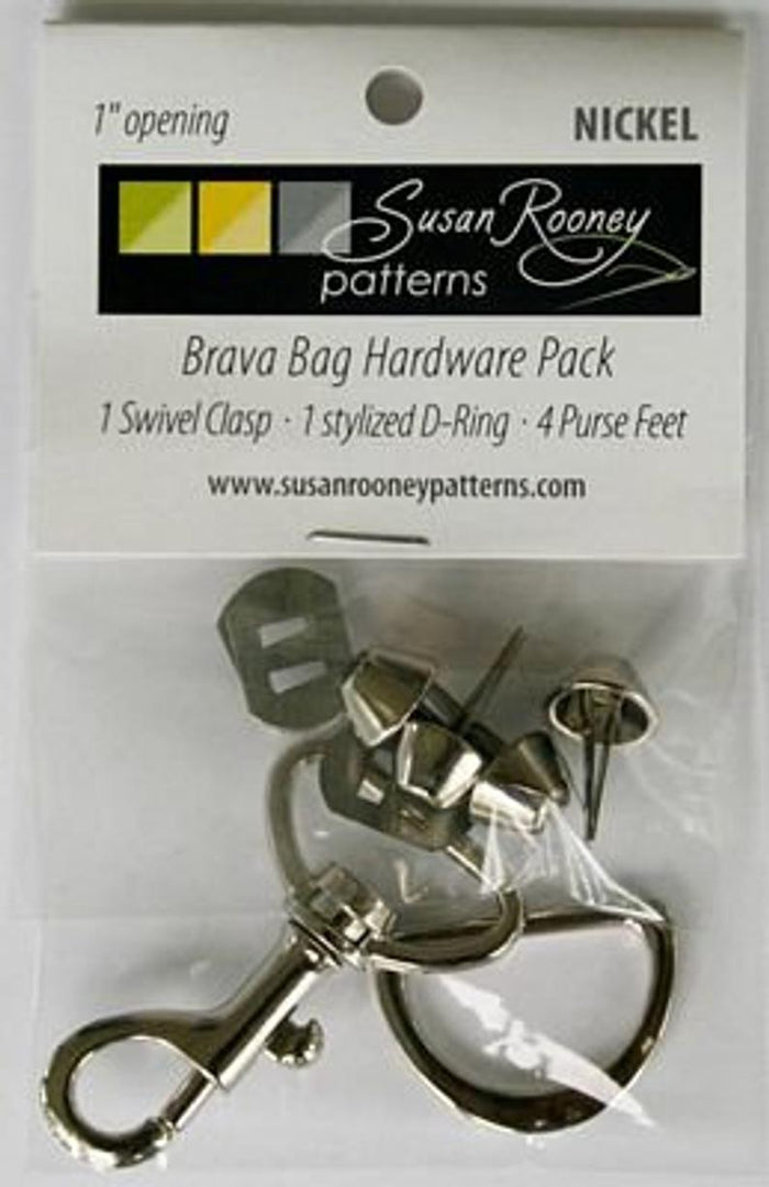 Bag Hardware - Tri D-Ring/Feet
