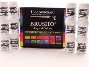 Brusho 12 Colour Set