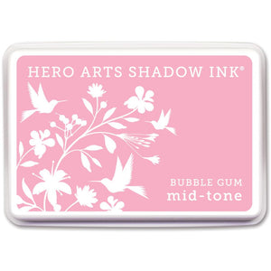 Hero Arts Midtone Shadow Ink Pad - Bubble Gum