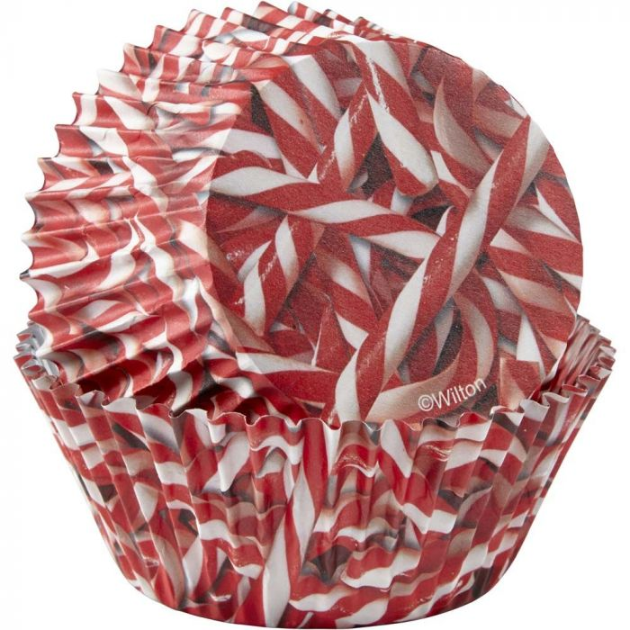 Photoreal Backing Cups - Candy Cane
