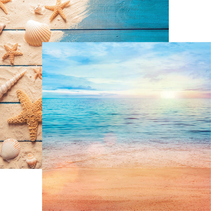 All Inclusive Vacation Double-Sided - Caribbean Beach