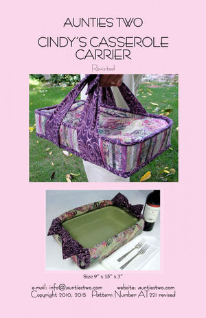 Cindy's Casserole Carrier