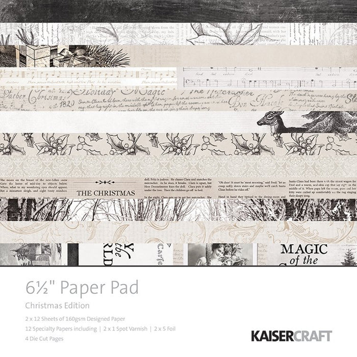 Kaisercraft Paper Pad - Christmas Edition
