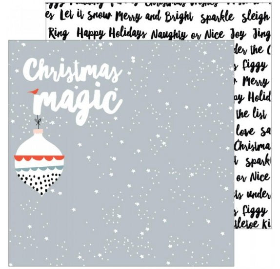 December Days Double-Sided- Christmas Magic