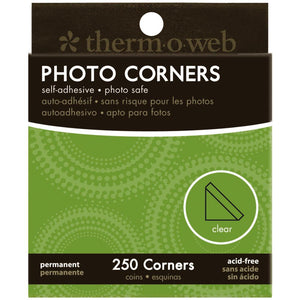 Clear Photo Corners