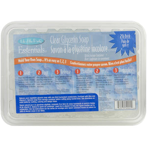 Clear Glycerin Soap - 2lb.
