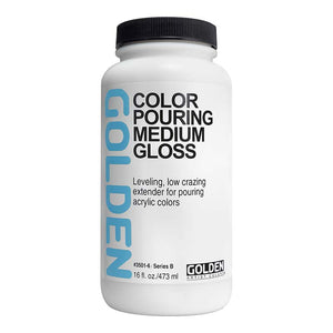 Golden Pouring Medium - Gloss