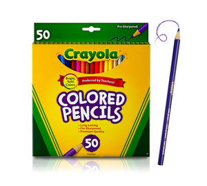 Crayola Coloured Pencil Sets