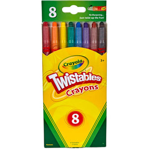 Twistables Crayons - 8ct