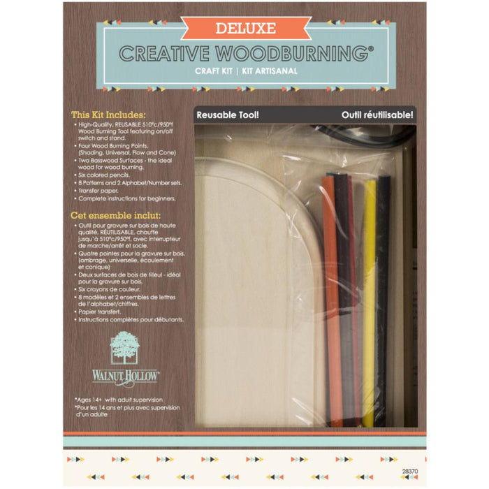 Deluxe Woodburning Craft Kit