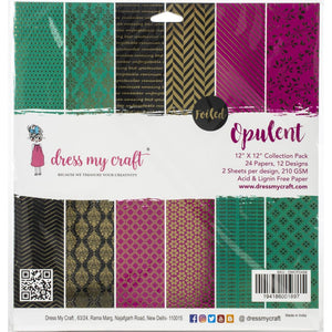 Dress My Crafts - Foiled Opulent