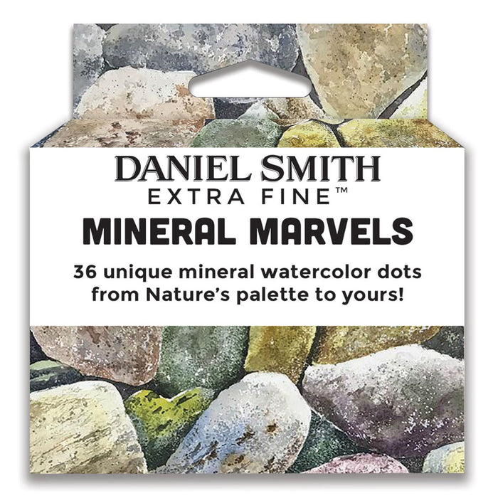 Daniel Smith 36-Colour Mineral Marvels Dot Card Set