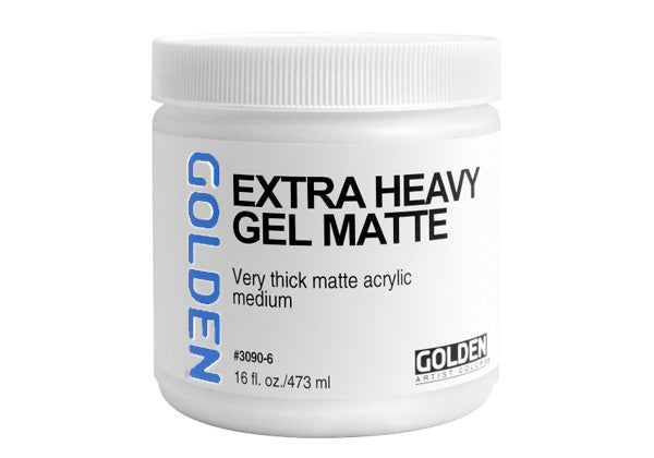 Golden Extra Heavy Gel - Matte