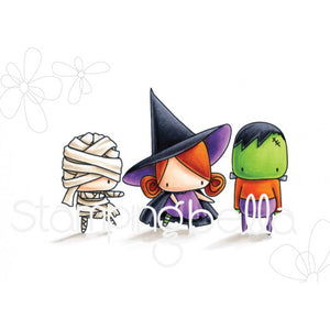 Stamping Bella - Frankie, Witchy & Mummy