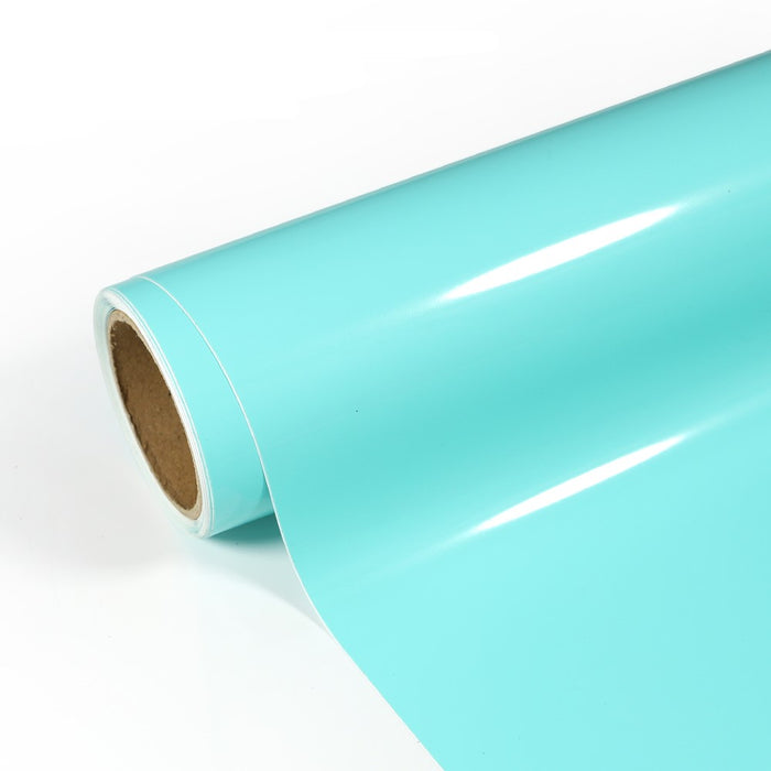 "DNA Self Adhesive Vinyl - Glossy Tiffany Blue - 12""x 60"""