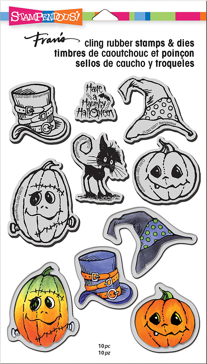 Stampendous Stamp & Die Set - Halloween Hats