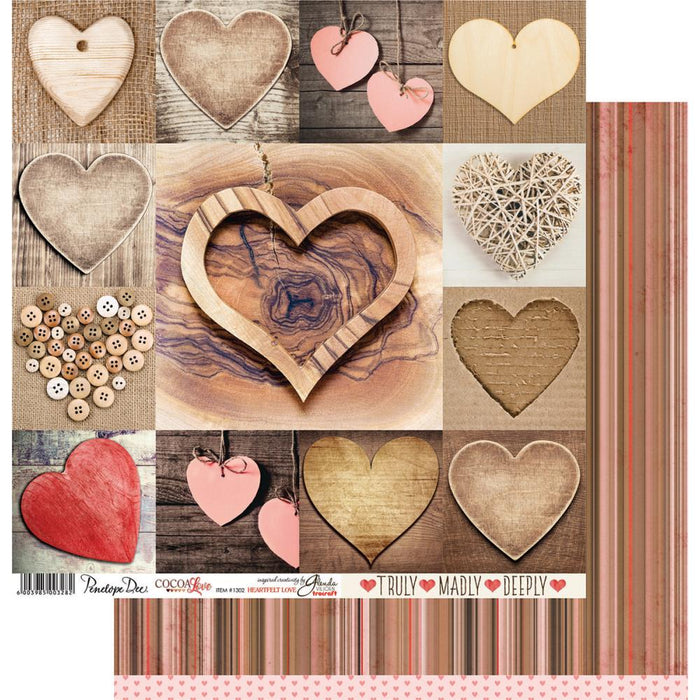 Cocoa Love Double-Sided - Heartfelt Love