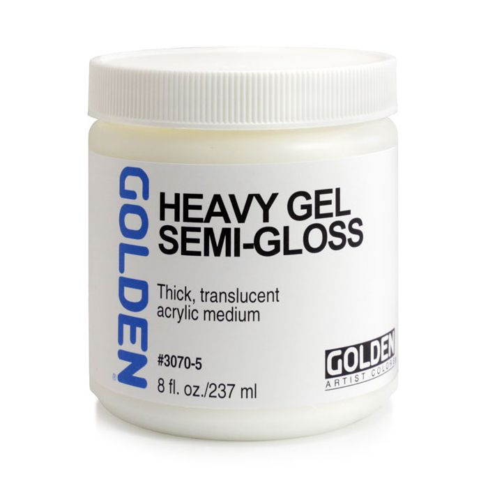 Golden Heavy Gel - Semi-Gloss - 8OZ