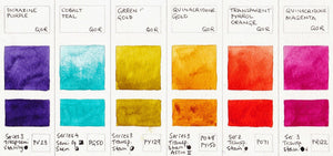 QoR Watercolour - 6 Colour High Chroma Set