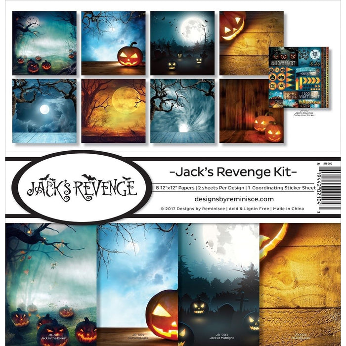 Reminisce Collection Kit - Jack's Revenge
