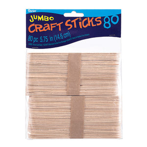 Jumbo Craft Sticks