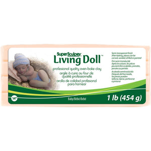 Super Sculpey Living Doll Clay
