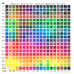 Magic Palette Studio Mixing Guide