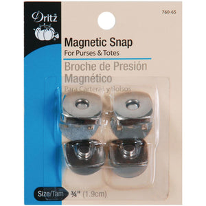 Magnetic Square Snap - 3/4""