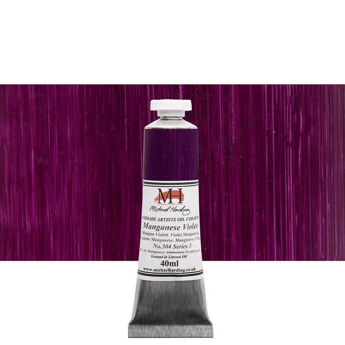 Michael Harding Oil Paint - 40ml - Pinks & Purples