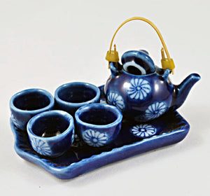 Miniature Porcelain Tea Set