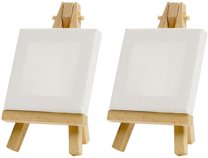 Mini Canvas & Easel Set