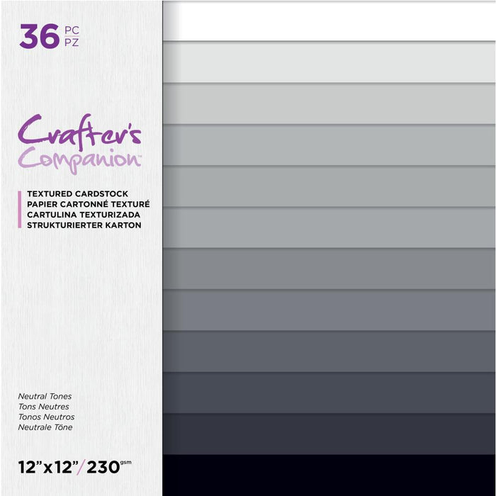 Crafter's Companion Single-Sided Paper Pad - Neutral Tones