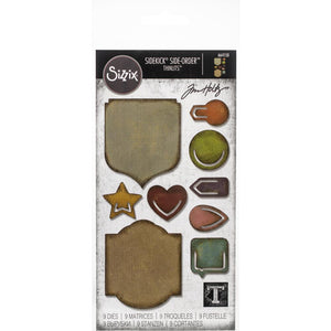 Sizzix Sidekick Side-Order Set - Noted