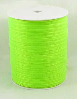 6mm Organza - Lime