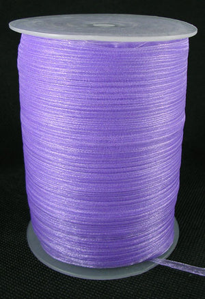 6mm Organza - Purple