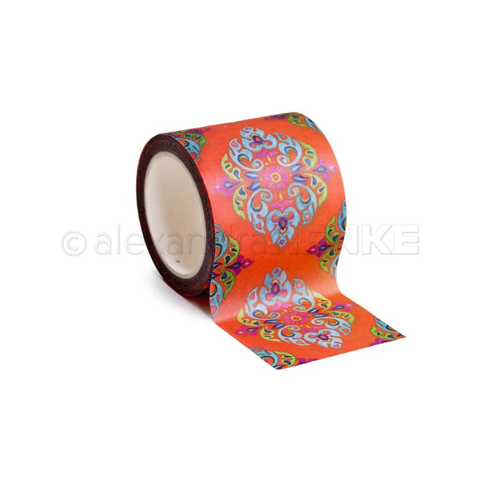 Oriental Orange Border Washi Tape