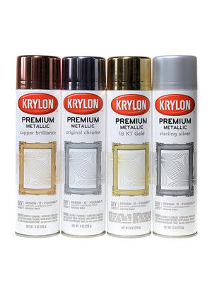 Premium Metallic Coating Spray Paint