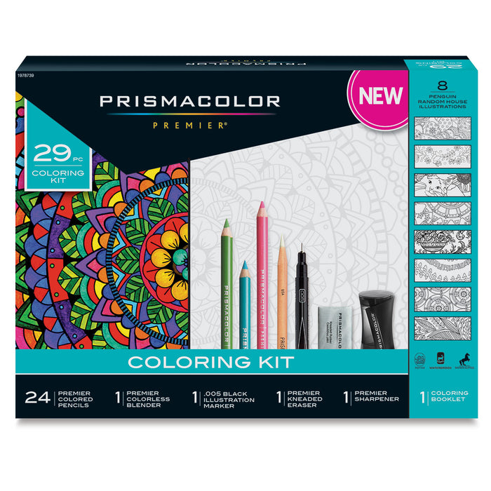 Limited Edition Prismacolor Adult Colouring Kit