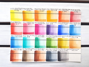 QoR Watercolour - 24 Colour Introductory Set