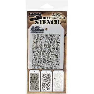 Tim Holtz Mini Stencil Set #49