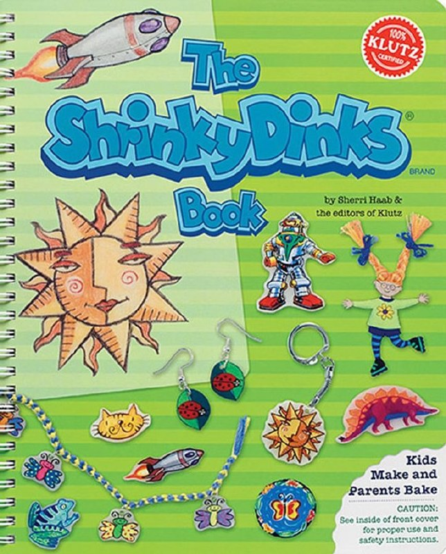 Shrinky Dinks Book
