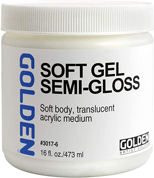 Golden Soft Gel - Semi-Gloss