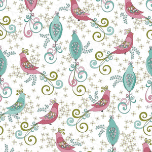 Soul Blossom  - White/Pink/Turquoise Chick