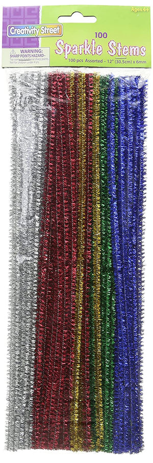 Sparkle Chenille Stems